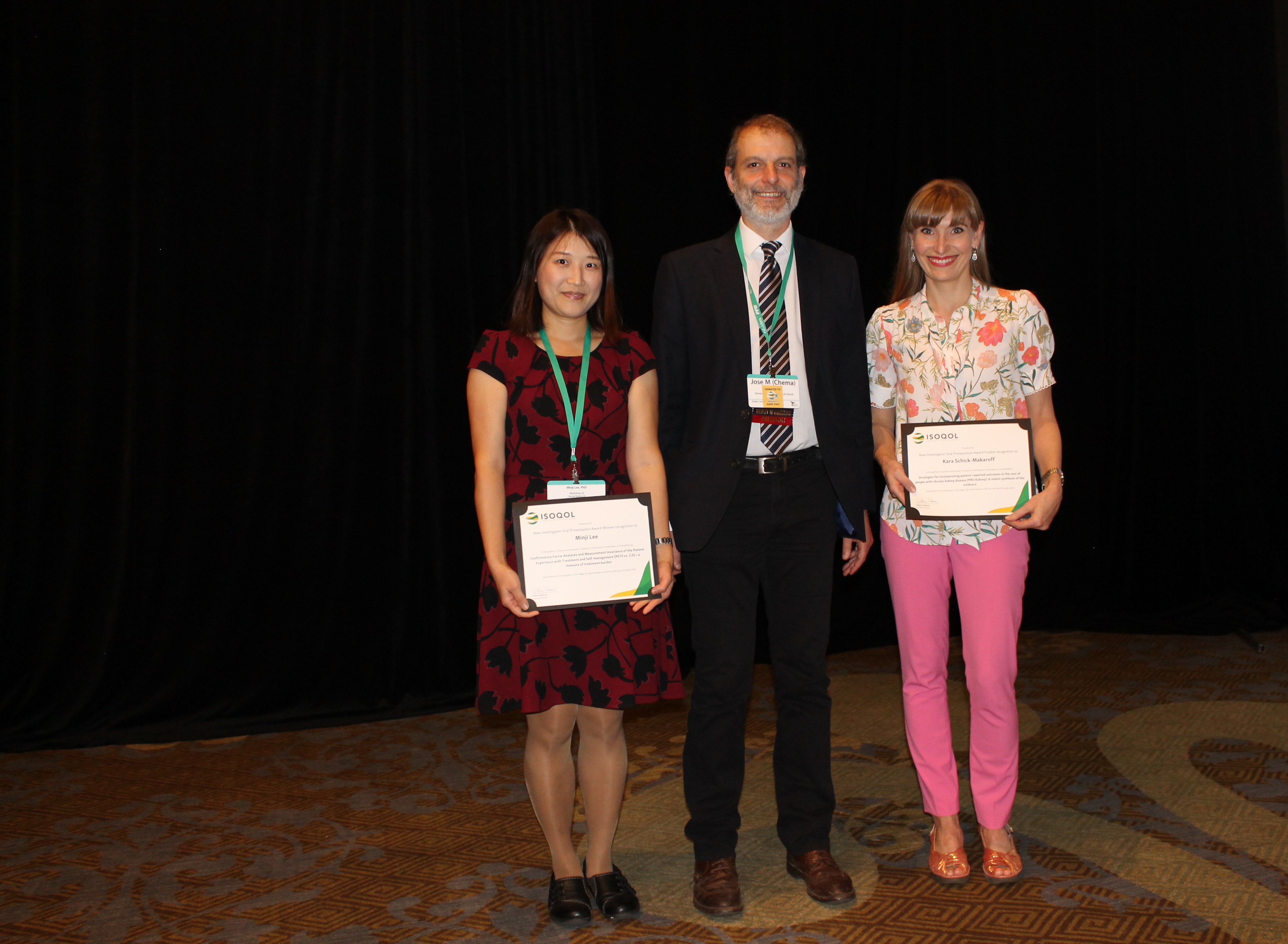 Awards Presented at the ISOQOL 2019 Annual Conference